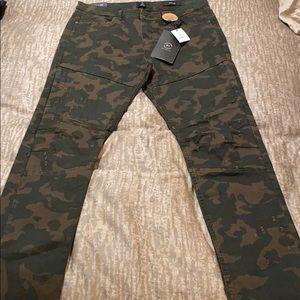 CottonOn men's slim leg camo jeans